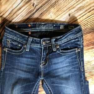 Miss Me Bottoms - Girls Miss me jeans size 14